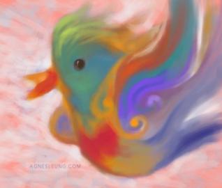 bird series - Flame